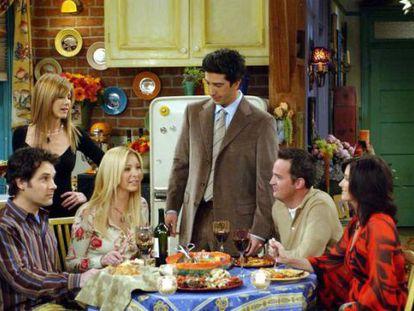 Fotograma de la teleserie 'Friends'.