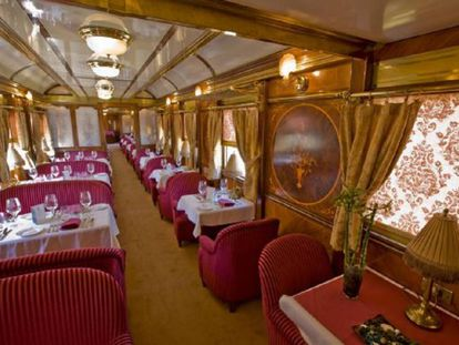 Así se viaja en un tren de lujo en España