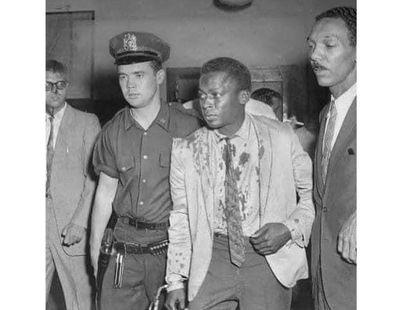 Miles Davis, cuando fue detenido en 1959.