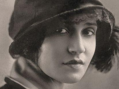 Retrato de Tina Modotti.