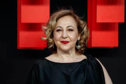 La actriz Carmen Machi, en Madrid en 2019.