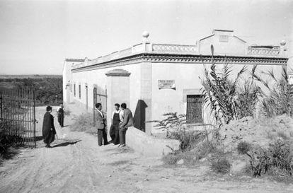 Emma Goldman en Aragón, 1936. Archivo OPE-CNTDAI, IISH.