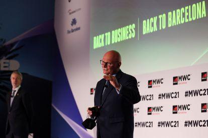 El consejero delegado de GSMA, John Hoffman, en la presentación de novedades del congreso.