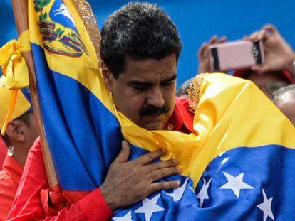 Nicolás Maduro, el pasado 27 de julio en Caracas.