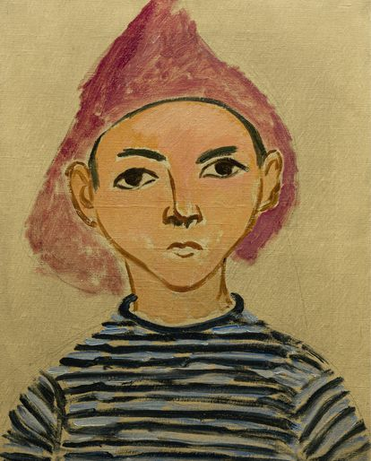 'Retrato de Pierre', Henri Matisse, 1909.