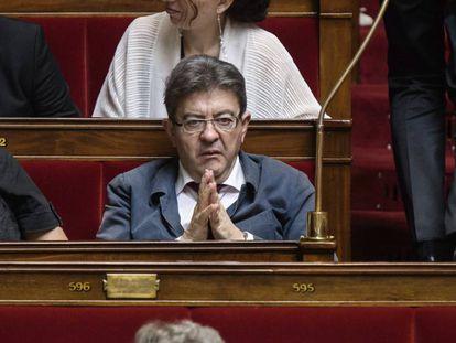 El diputado y líder de Francia Insumisa, de Jean-Luc Mélenchon