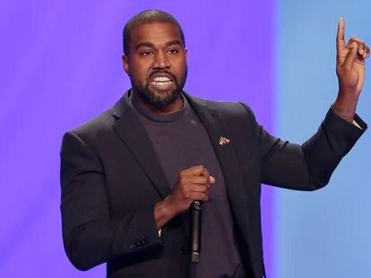 Kanye West, en un servicio religioso en Houston (Texas) en noviembre de 2019.