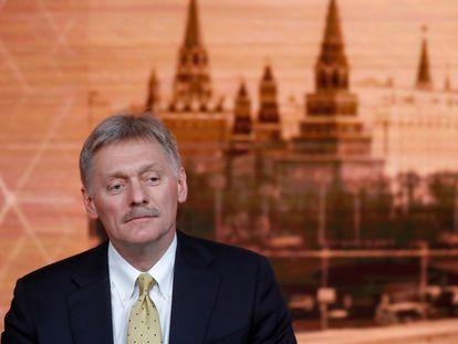 El portavoz del Kremlin, Dmitry Peskov, en Moscú en 2019.