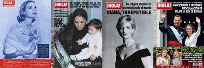 Selección de portadas de '¡Hola!