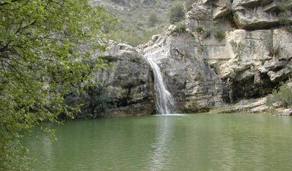Barranco de la Encantada.