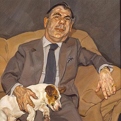 <i>Guy and Speck</i> (1980-1981), de Lucian Freud.