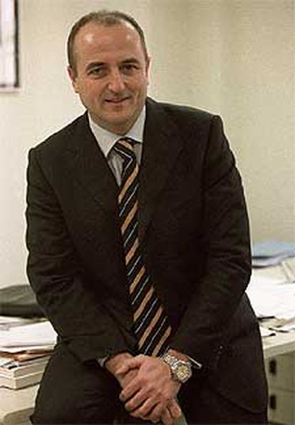 Miguel Sebastián, en su despacho del PSOE.