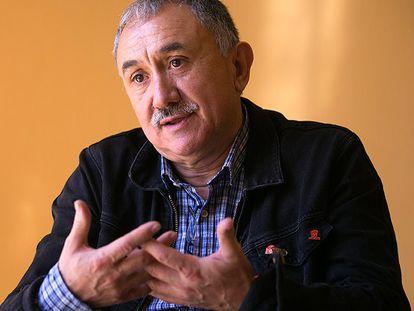 El nuevo secretario general de UGT, Josep María Álvarez.