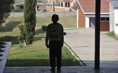 Una alumna del colegio de Tenancingo.