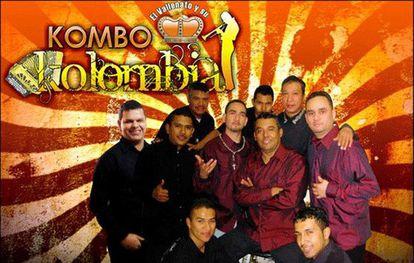 Imagen de un disco de Kombo Kolombia.
