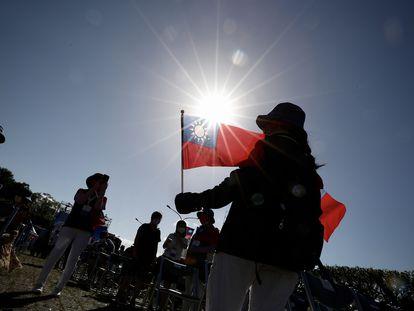 Celebración del día nacional de Taiwán, el pasado domingo.
