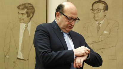 El presidente del Tribunal de Cuentas, Ramon Alvarez de Miranda.