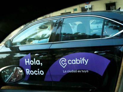 Vehículo de Cabify.