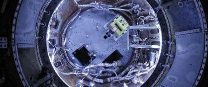 Las misiones de la NASA como la que puede verse en la exposición que se inaugura hoy, transportaron los primeros seres vivos al espacio.
