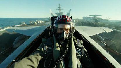 Tom Cruise, en 'Top Gun: Maverick'.