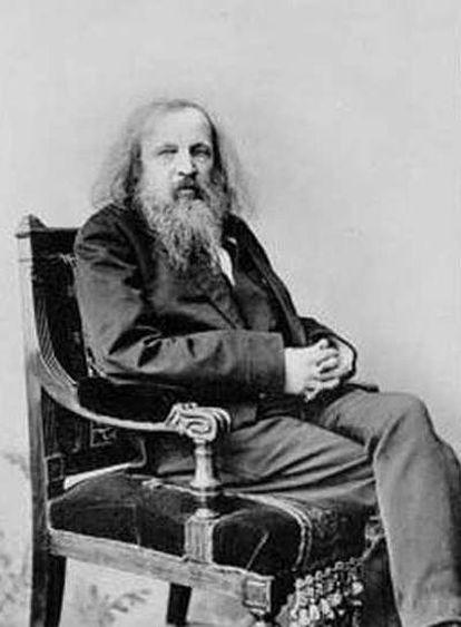 Mendeléiev, científico ruso