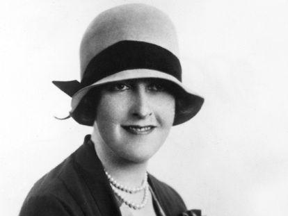 Agatha Christie en una imagen de los primeros años de la década de los veinte.
