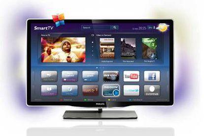 La etiqueta Smart TV garantiza la conexión a la Red.