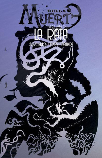 Portada de 'Bella muerte 3. La rata', por la que ha sido premiada Emma Ríos.