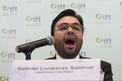 Gabriel Contreras, presidente del IFT.