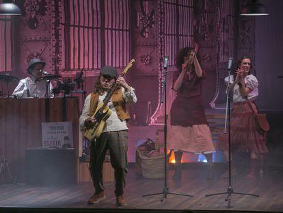 Concierto One, Two, Free… Folk!, el pasado sábado 21 de noviembre en Caixaforum.