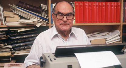 El filósofo Julián Marías en los años noventa.