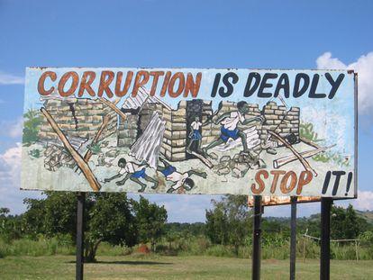 <span >&quot;La corrupción mata, párala&quot; / Foto: studentsforliberty</span>