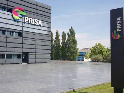 La sede de PRISA en Tres Cantos (Madrid).