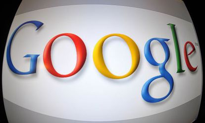 El logo de Google en Washington DC, en una foto de archivo.