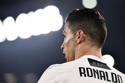 Cristiano, durante un partido reciente en el Juventus Stadium.