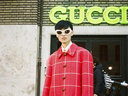Una instantánea de la producción 'Ouverture of something that never ended' de Gucci, creada por Alessandro Michele y Gus Van Sant.