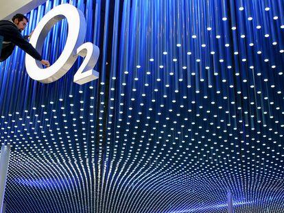 Logo de Telefónica O2.