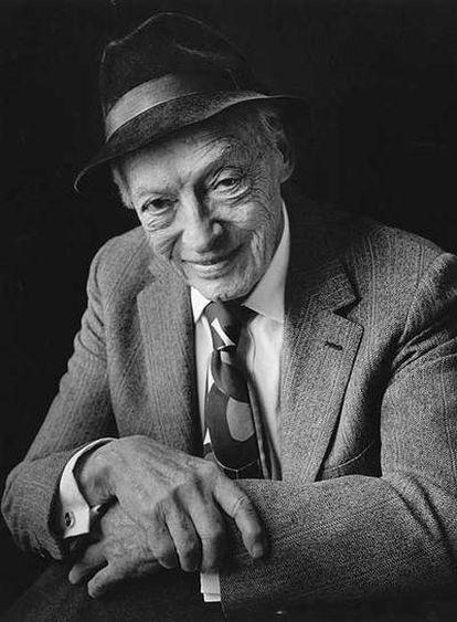 El escritor estadounidense Saul Bellow (1915-2005).