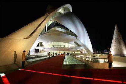 El Palau de les Arts de Calatrava será el escenario y sede permanente de la orquesta  / JESUS CISCAR