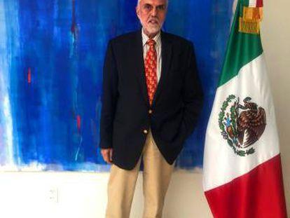 Edmundo Font, el nuevo encargado de negocios de México a Bolivia.