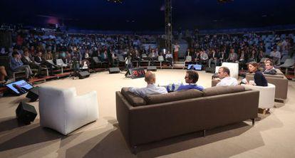 Ponentes en la última edición de The South Summit, en Madrid.