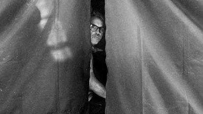 Alfonso Cuarón, durante el rodaje de Roma, la película que le ha encumbrado.