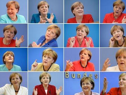 La popularidad de Angela Merkel no ha bajado del 50% durante 16 años.