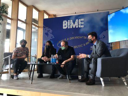 Rueda de prensa de presentación de la novena edición del BIME.