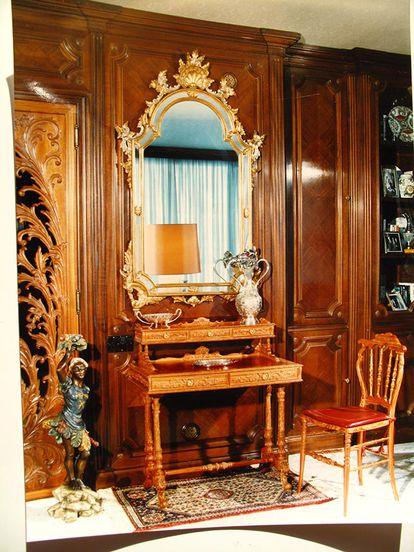 Los productos estrella de la empresa fundada por Mariano García eran los muebles de estilo Luis XV y Luis XVI.