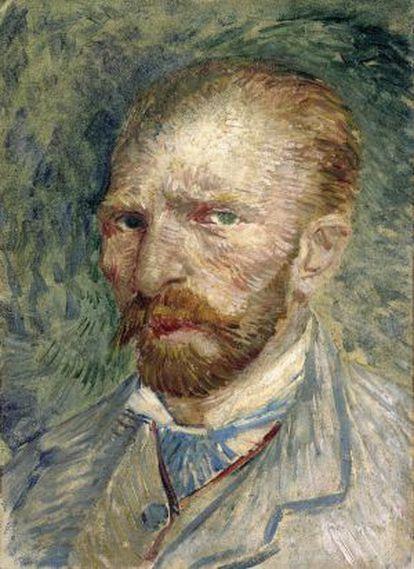 Autorretrato de Vicent van Gogh (1887).