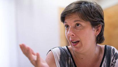 Laia Ortiz, tercera teniente de alcalde de Barcelona.