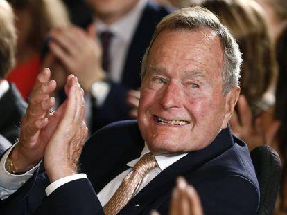 El expresidente Bush en una imagen de archivo.
