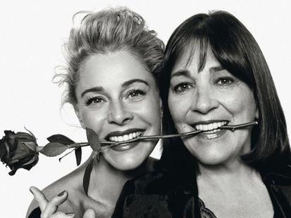 Las actrices Belén Rueda (izquierda) y Carmen Maura.