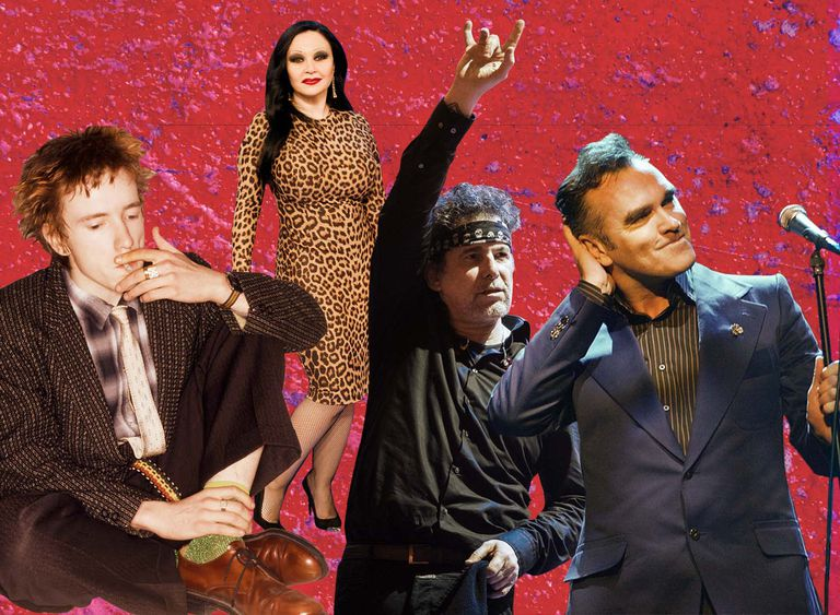 Johnny Rotten, Alaska, Andrés Calamaro y Morrisey son algunas de las estrellas musicales que en alguna ocasión han levantado controversia por sus declaraciones o gestos políticos.